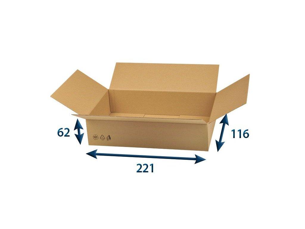 chlopnova krabica 221 x 116 x 62 3vvl