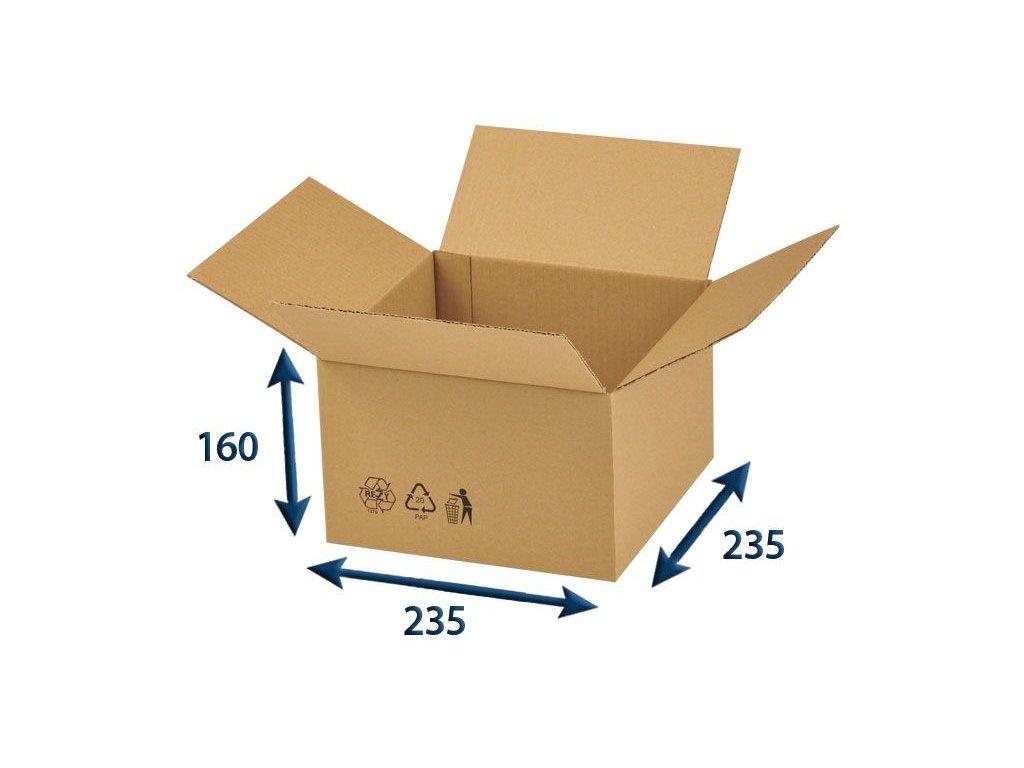 krabica chlopnova 235 x 235 x 160 3vvl