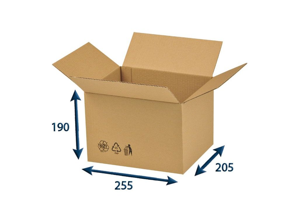 krabica chlopnova 255 x 205 x 190 3vvl