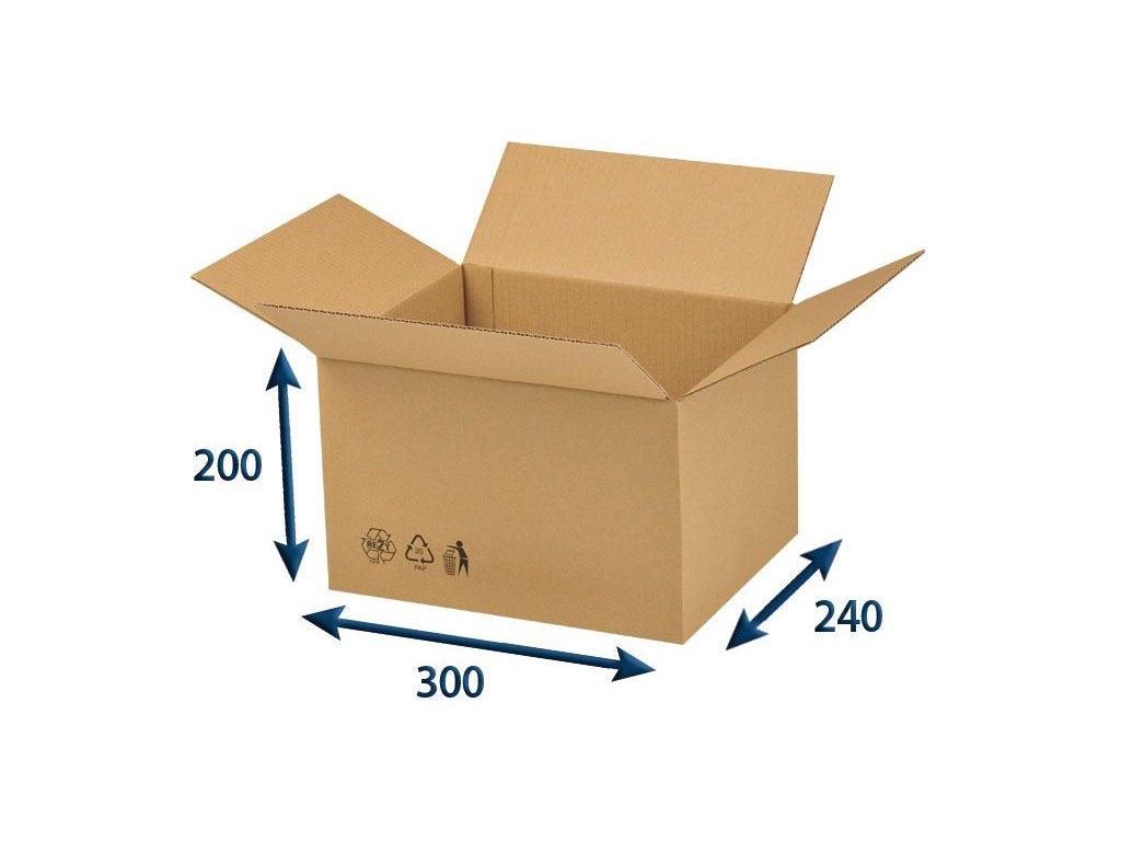 krabica chlopnova 300 x 240 x 200 3vvl
