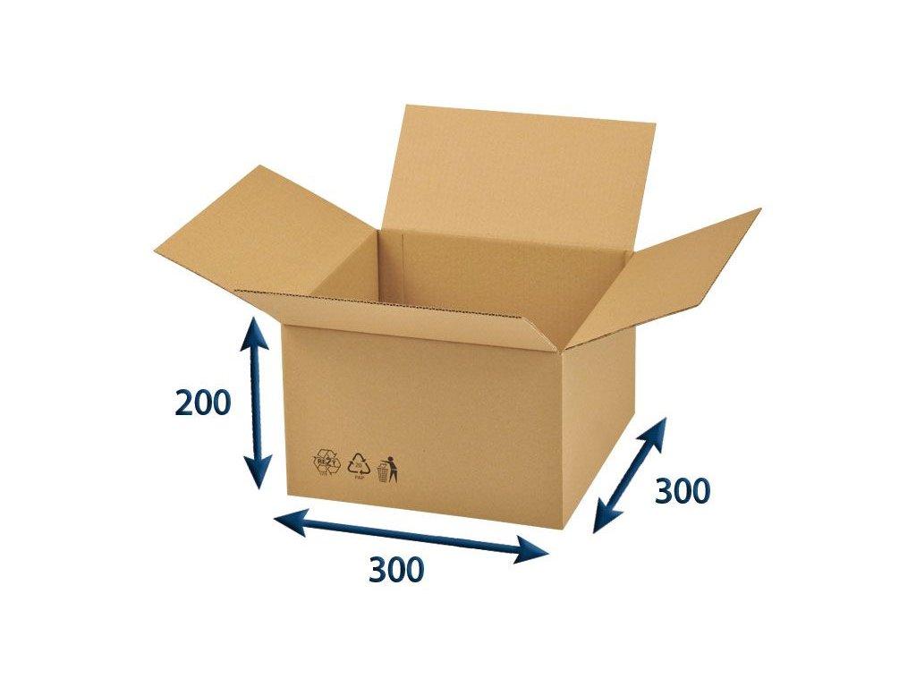 krabica chlopnova 300 x 300 x 200 3vvl