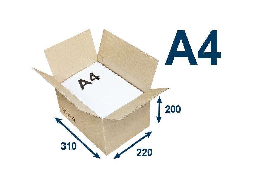 krabica chlopnova na tlacoviny a4 310 x 220 x 200 3vvl