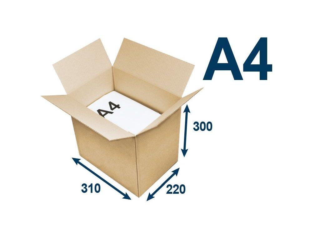 krabica chlopnova na tlacoviny a4 310 x 220 x 300 3vvl