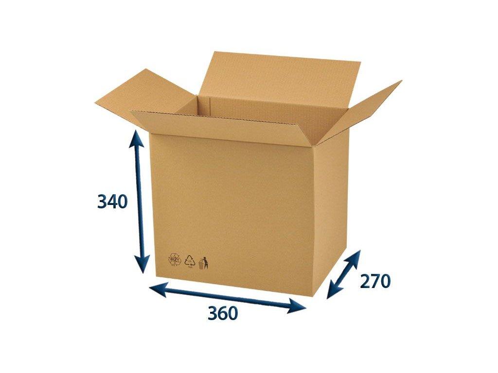 krabica chlopnova 360 x 270 x 340 3vvl