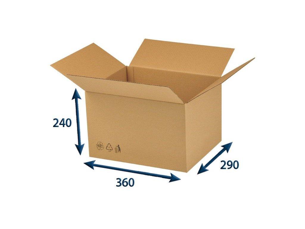krabica chlopnova 360 x 290 x 240 3vvl