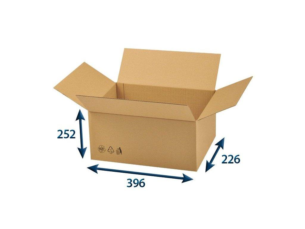 krabica chlopnova 390 x 220 x 240 3vvl