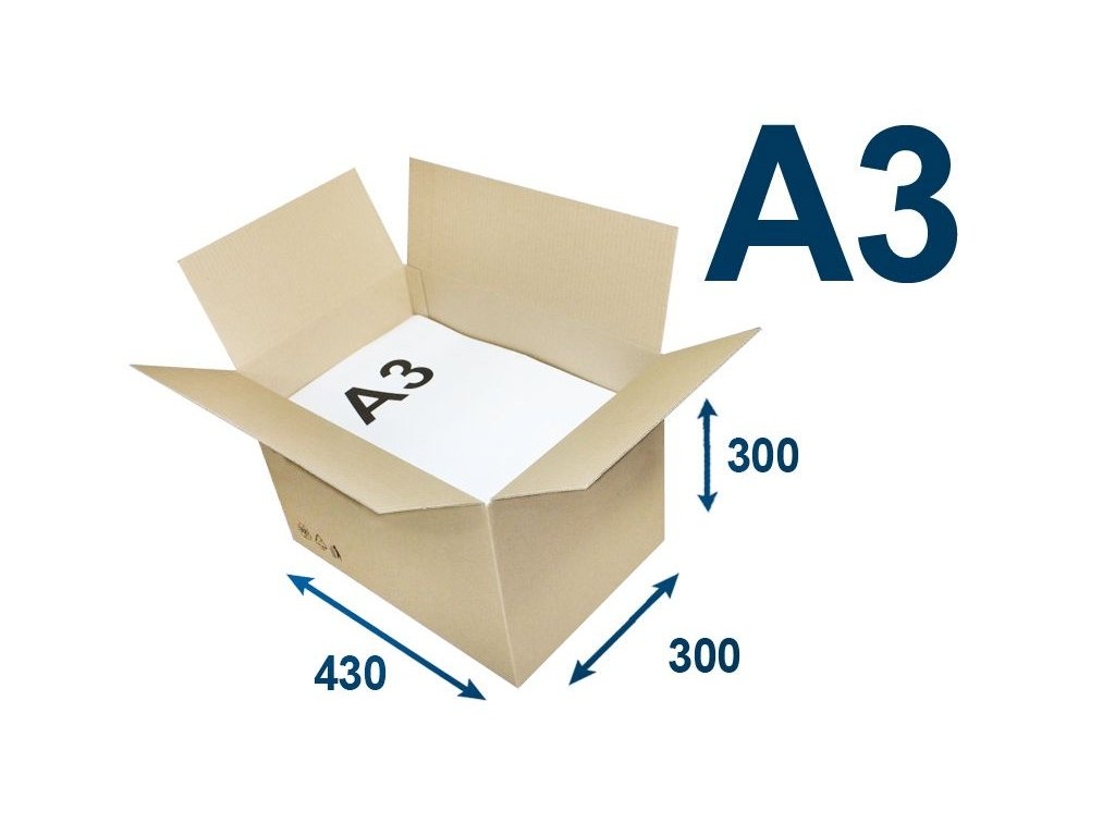 krabica chlopnova na tlacoviny a3 430 x 300 x 300 3vvl
