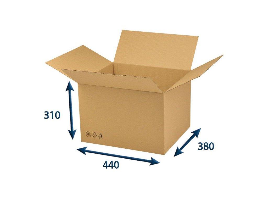 krabica chlopnova 440 x 380 x 310 3vvl