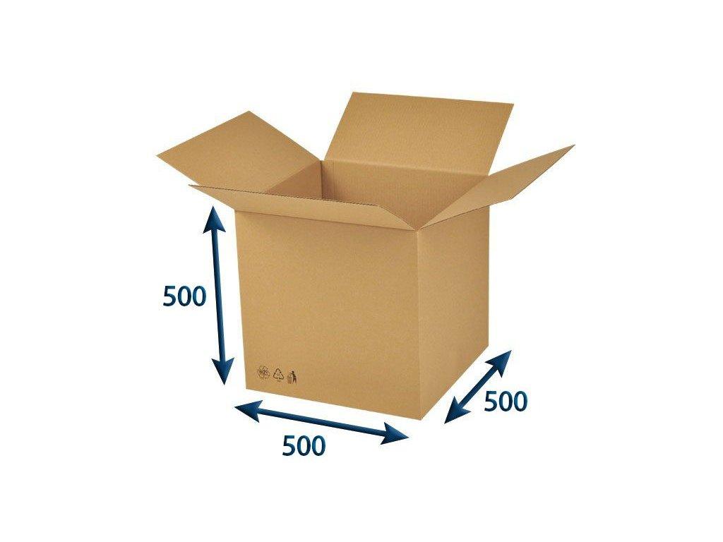 krabica chlopnova 494 x 494 x 488 3vvl