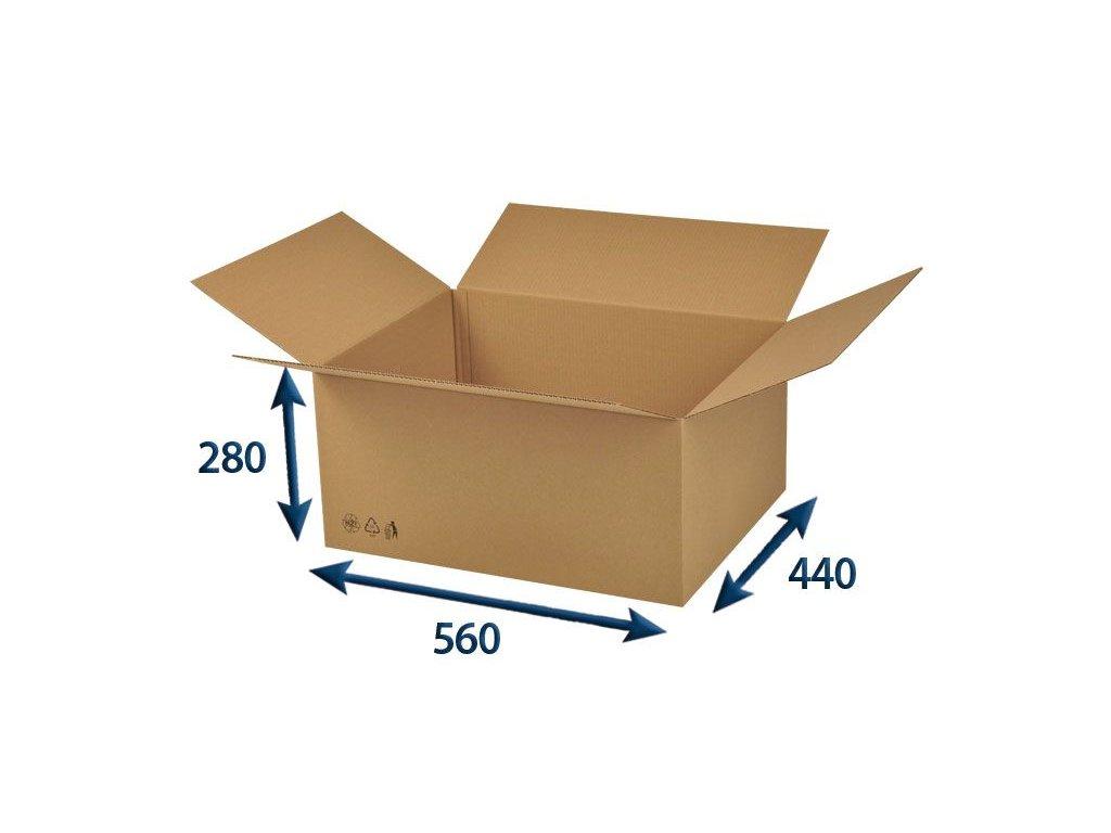 krabica chlopnova 560 x 440 x 280 3vvl