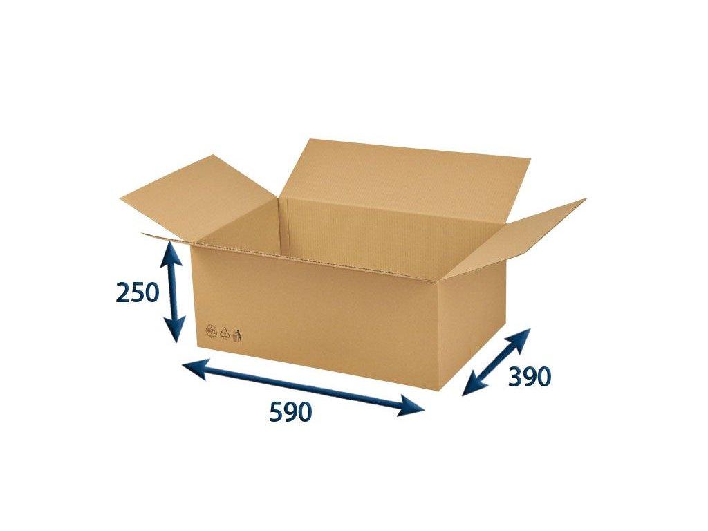 krabica chlopnova 590 x 390 x 250 3vvl