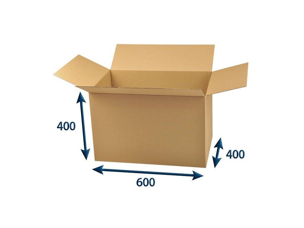 kartonova krabica 600 x 400 x 400 3vvl chlopnova