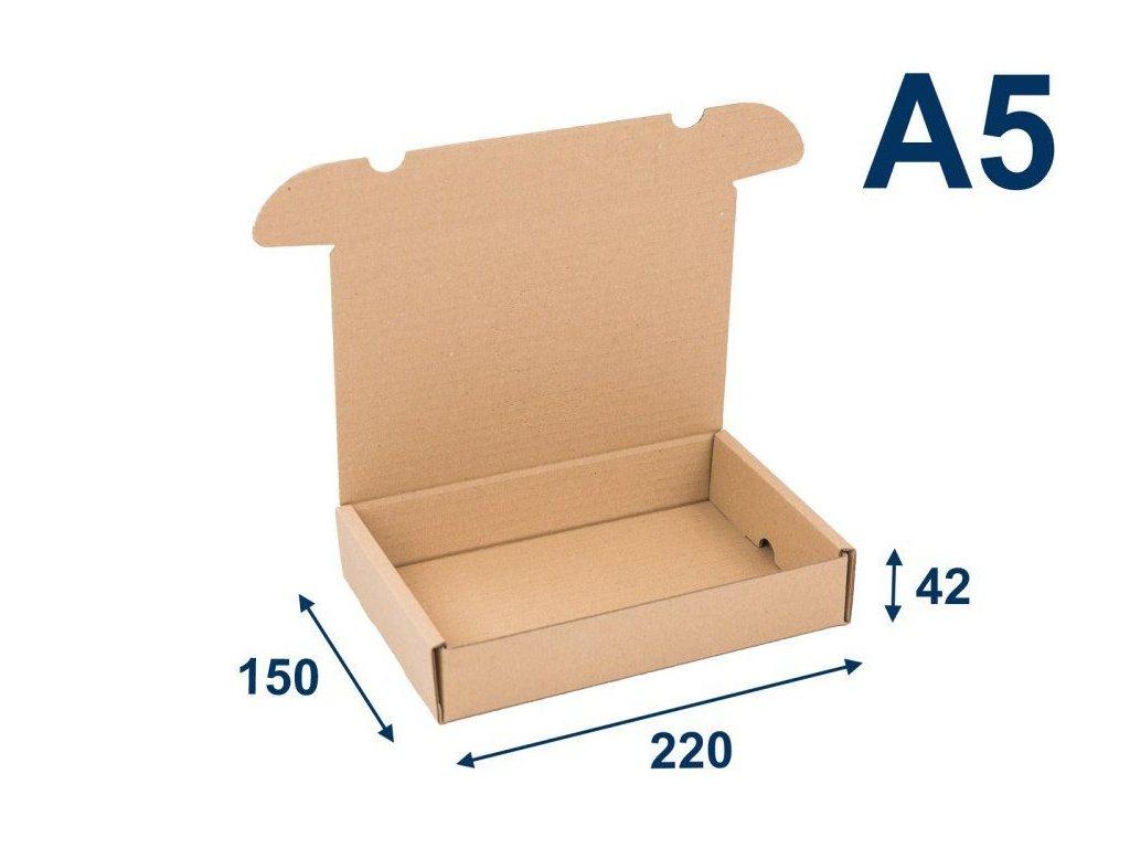 krabica na tlacoviny a5 220 x 150 x 42 3vvl