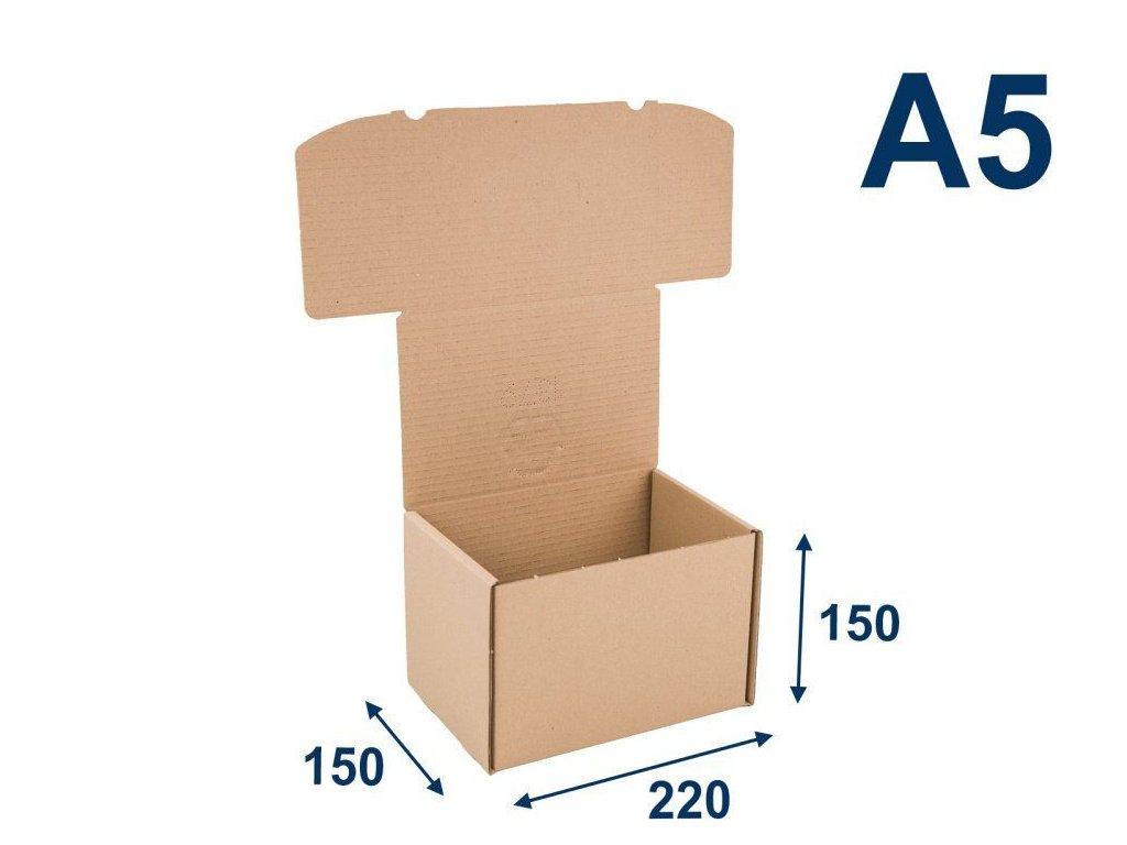 krabica na tlacoviny a5 220 x 150 x 150 3vvl