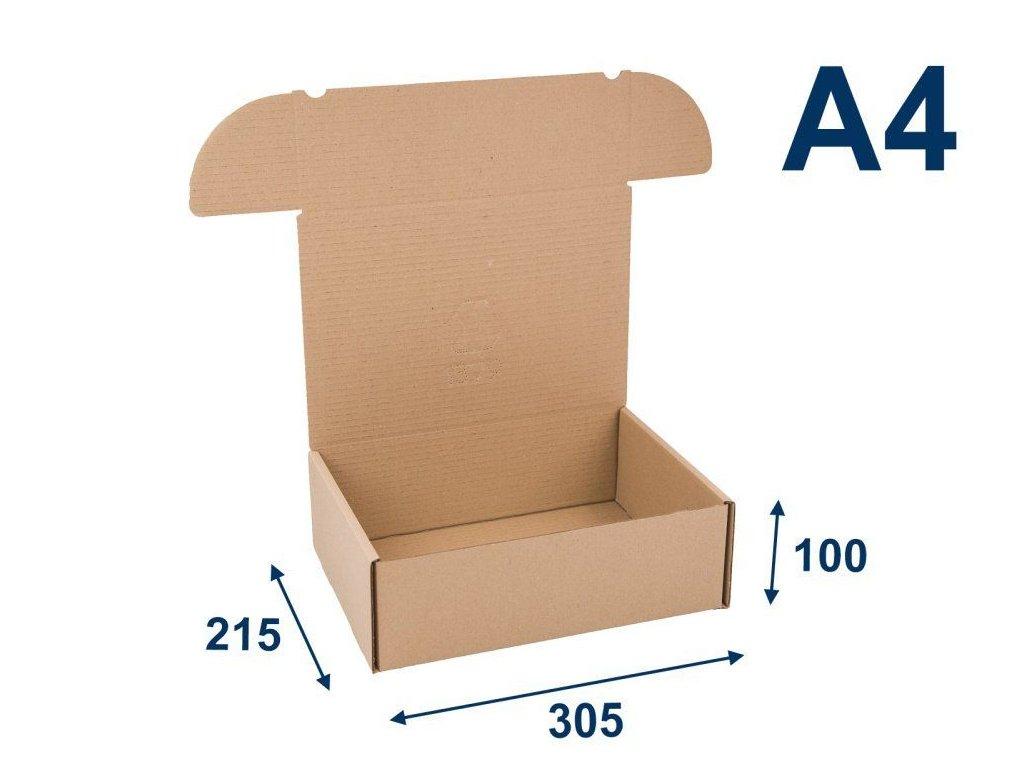 krabica na tlacoviny a4 305 x 215 x 100 3vvl