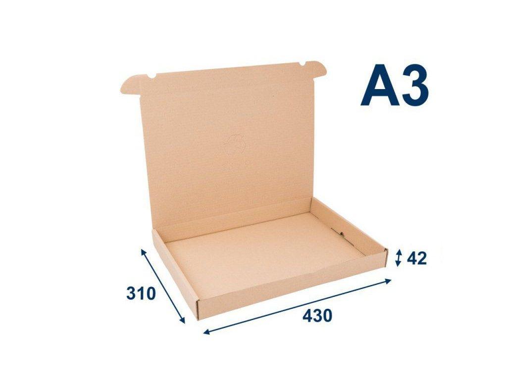 krabica na tlacoviny a3 430 x 310 x 42 3vvl