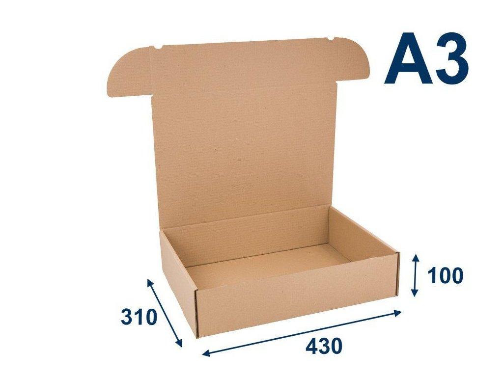 krabica na tlacoviny a3 430 x 310 x 100 3vvl