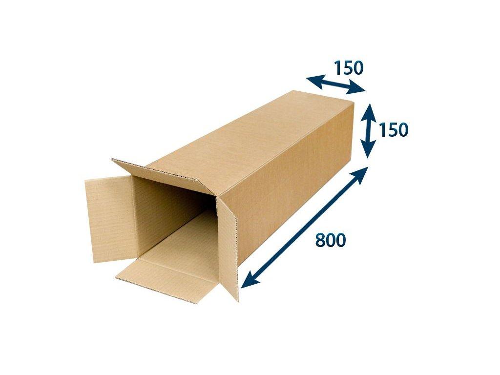 kartonovy tubus 150 x 150 x 800 3vvl