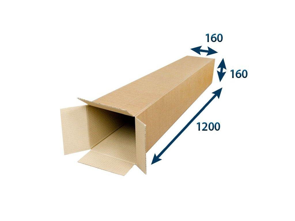 kartonovy tubus 160 x 160 x 1 200 3vvl