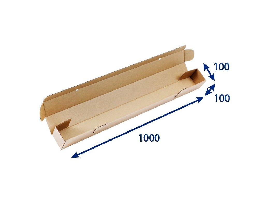 kartonovy tubus 100 x 100 x 1 000 3vvl