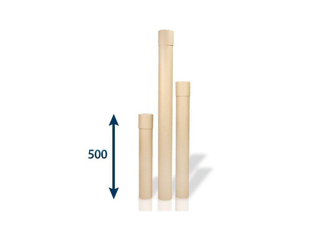 papierovy tubus 80 x 2x500