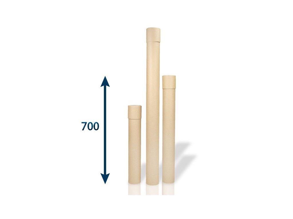 papierovy tubus 80 x 2x700