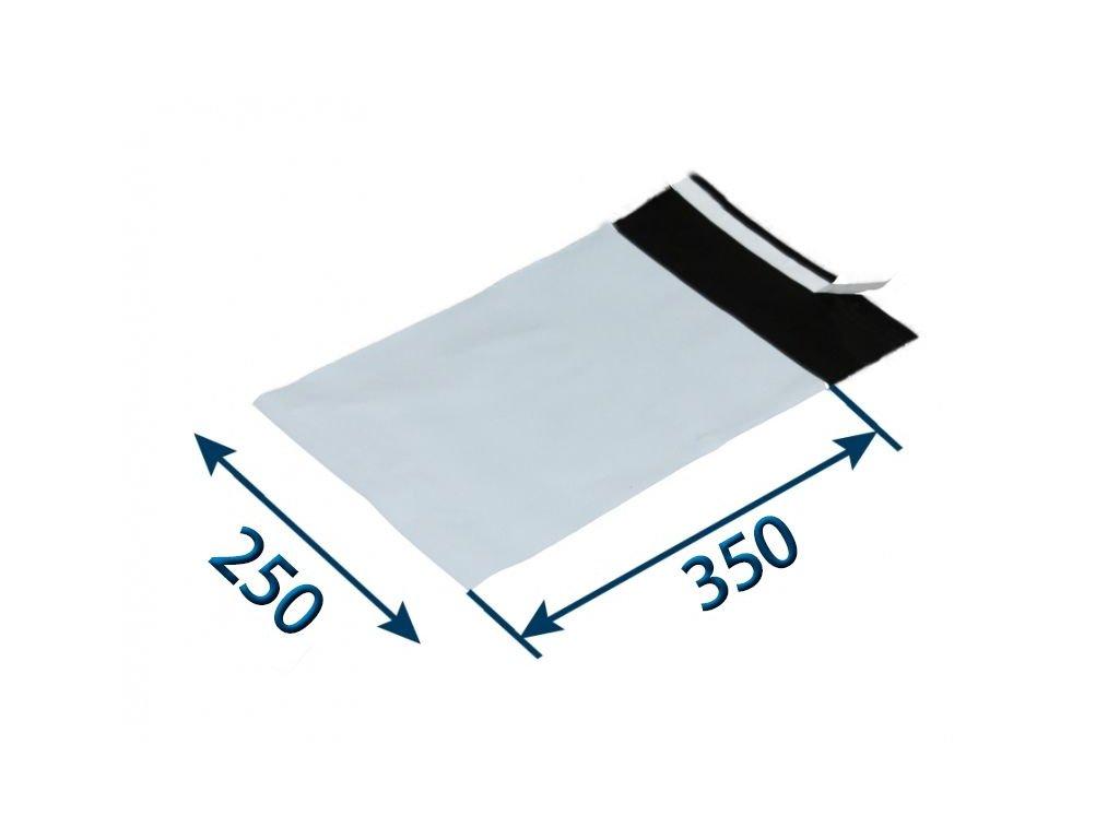 obalka plastova samolepiaca bielo cierna 250 x 35050 x 006