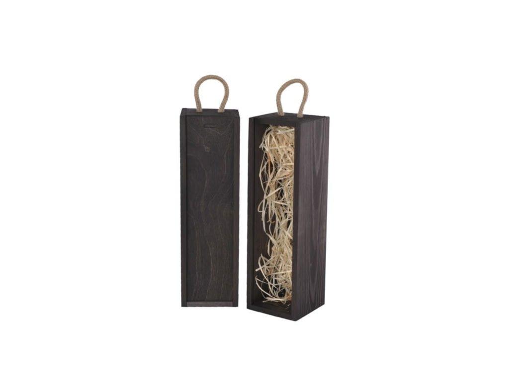 drevena krabicka na vino vysuvna vlna cierna V 1 17 W