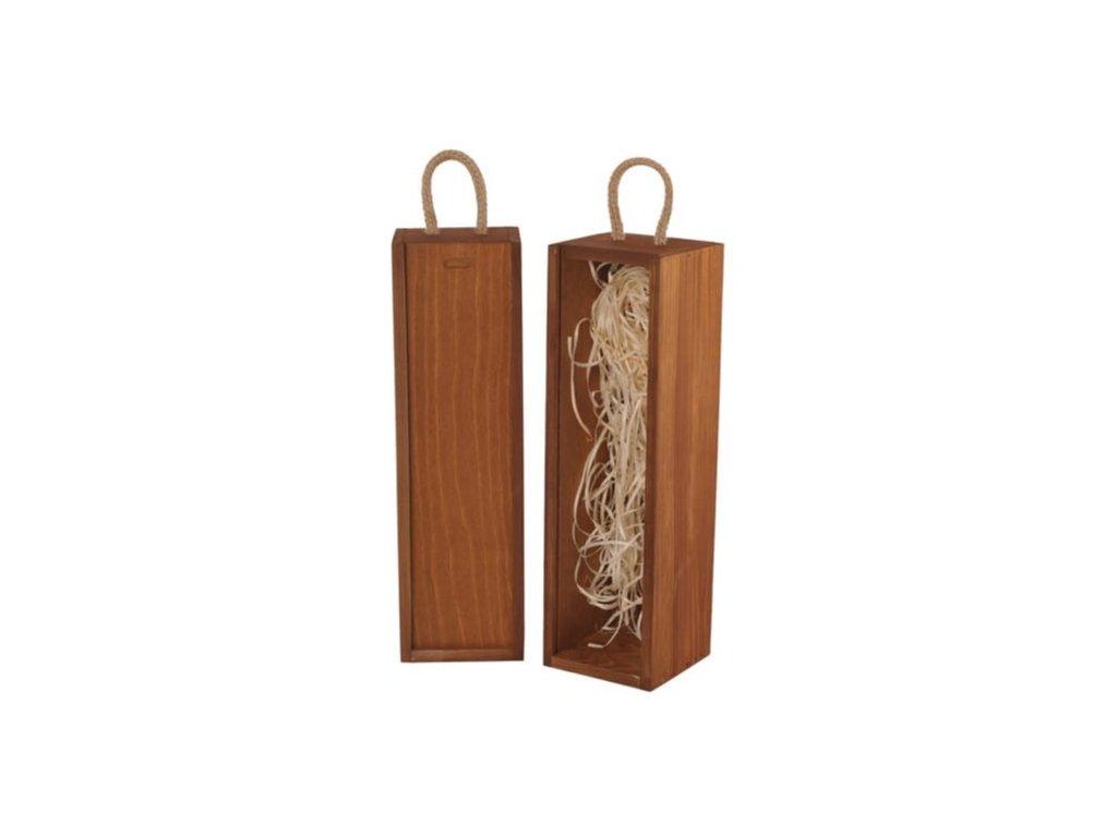 drevena krabicka na vino vysuvna vlna zazvor V 1 16 W