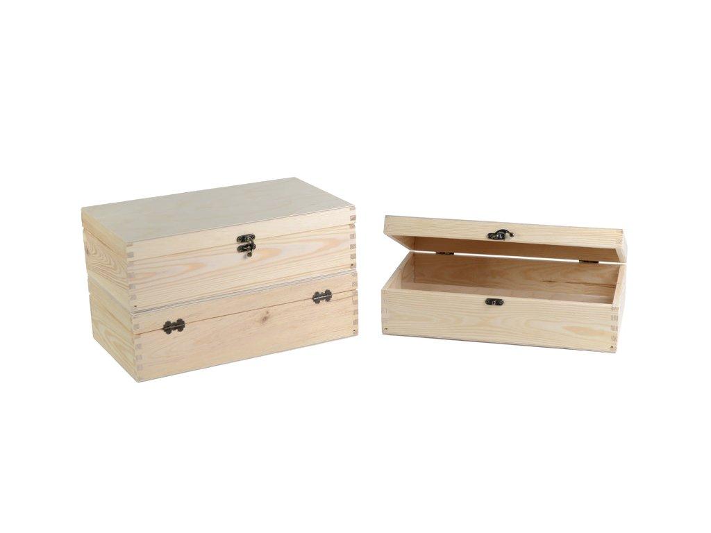 drevena krabicka na vino 2 zatvaracia