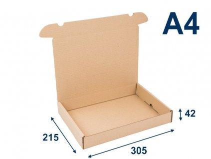 krabica na tlacoviny a4 305 x 215 x 42 3vvl