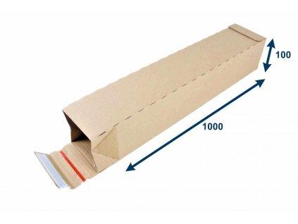 zasielkovy tubus 105x105x1015 3vvl rychlouzatvaraci