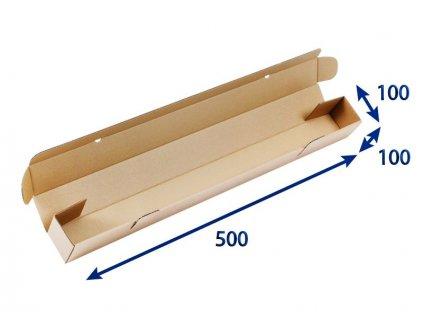 kartonovy tubus 100 x 100 x 500 3vvl
