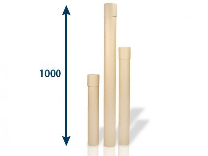 papierovy tubus 80 x 2x1000