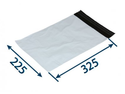 obalka plastova samolepiaca bielo cierna 225 x 32550 x 006