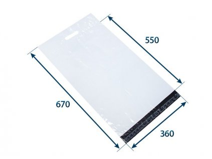 obalka plastova samolepiaca bielo cierna 360 x 55080 hr 006 s uchom