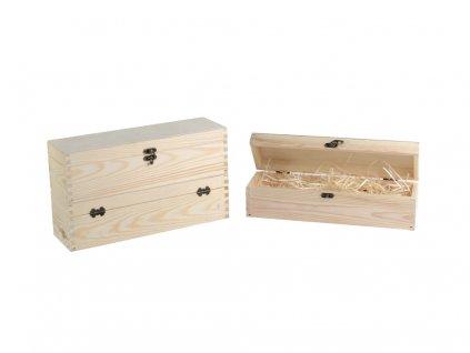 drevena krabicka na jedno vino zatvaracia vlna 5
