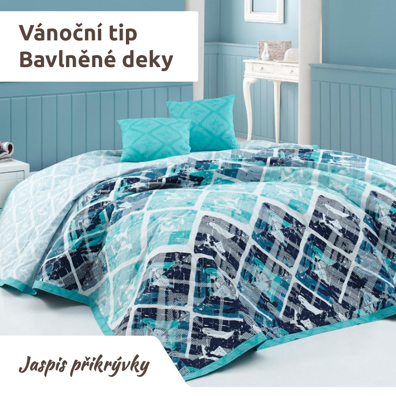 Hřejivá bavlněná deka potěší a zahřeje každého