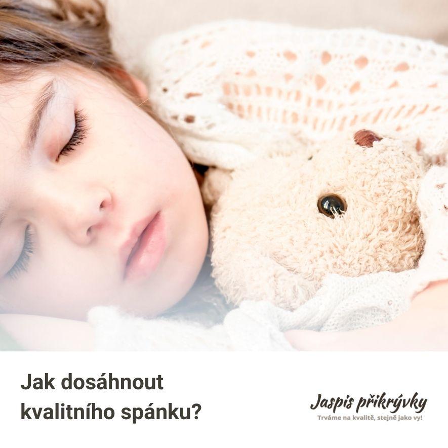 Co je zdravý a kvalitní spánek? A jakou roli v něm hraje melatonin?