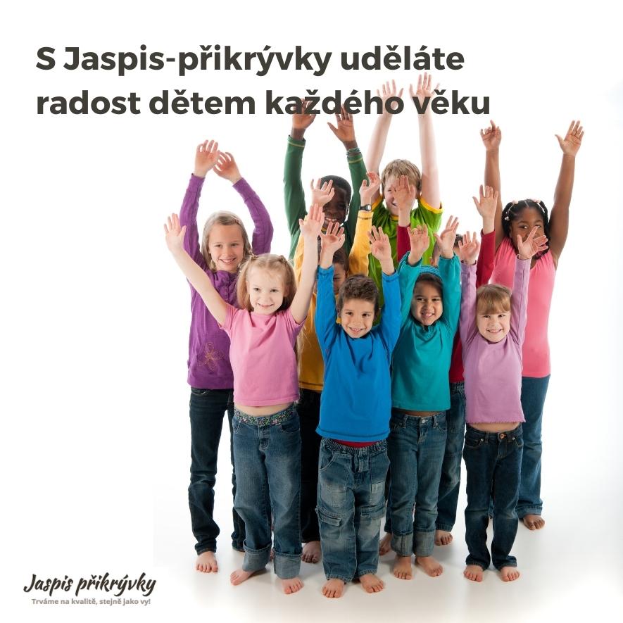 S Jaspis-přikrývky uděláte radost dětem každého věku