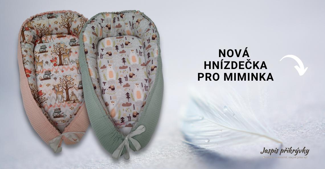 Nová hnízdečka pro miminka 2021