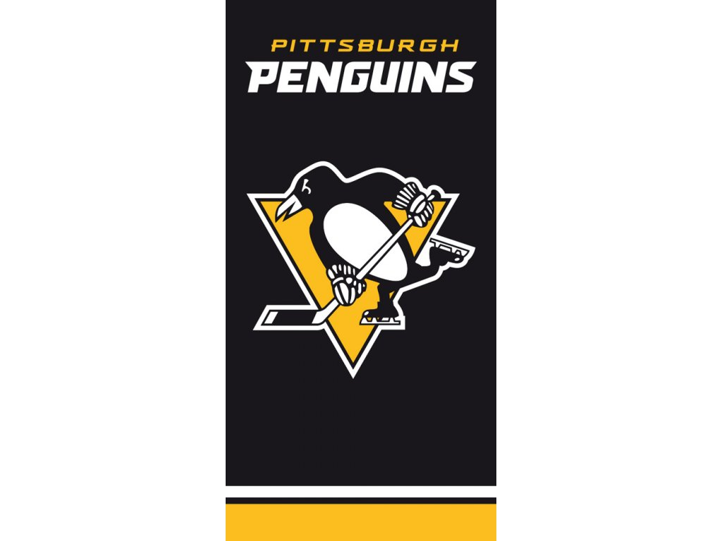 Osuška NHL Pittsburgh Penguins Black
