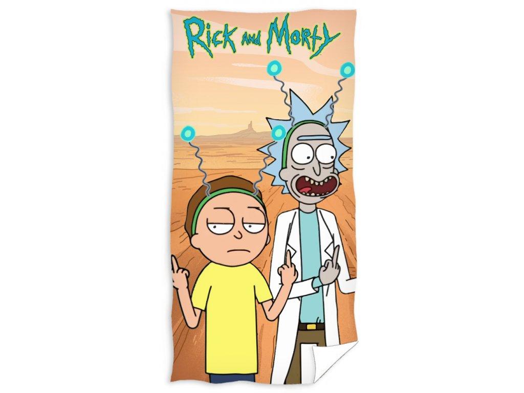 Dětská osuška Rick and Morty