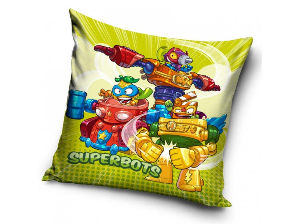 Dětský polštářek SuperZings Superbots