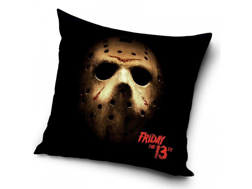 Dekorační polštářek Pátek 13 Jason se dívá