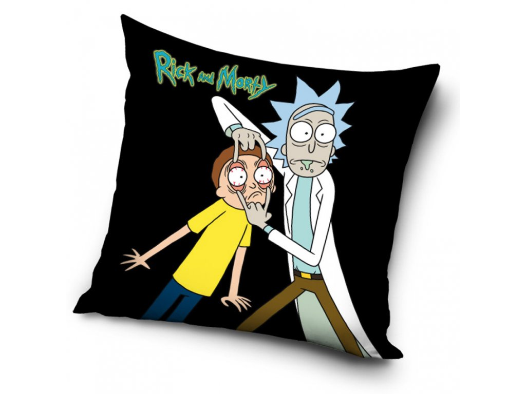Polštářek Rick and Morty Tak se na to podívej