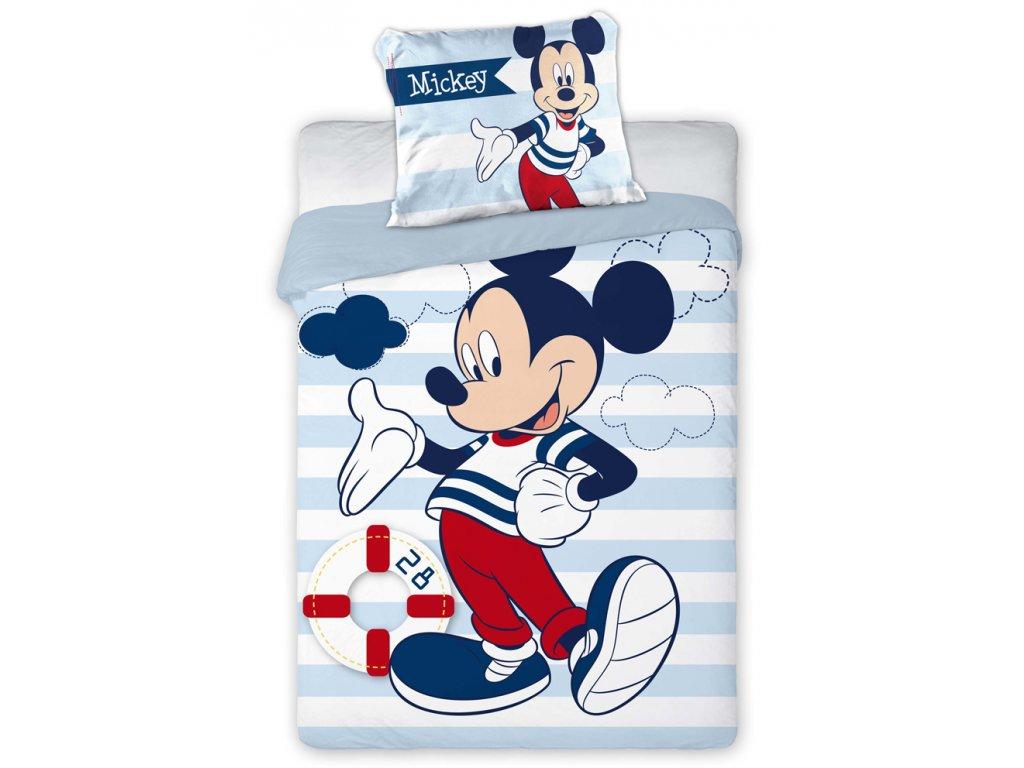 Povlečení do postýlky Mickey Mouse Námořník