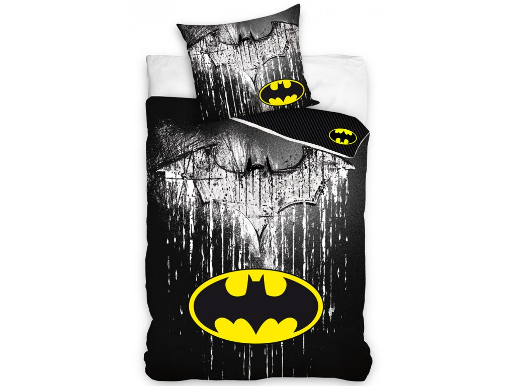 Dětské povlečení Batman Steel Logo