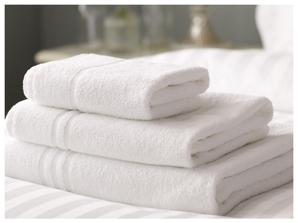 Froté ručníky a osušky HOTEL BASIC Stripes Rozměr: 70x140 cm