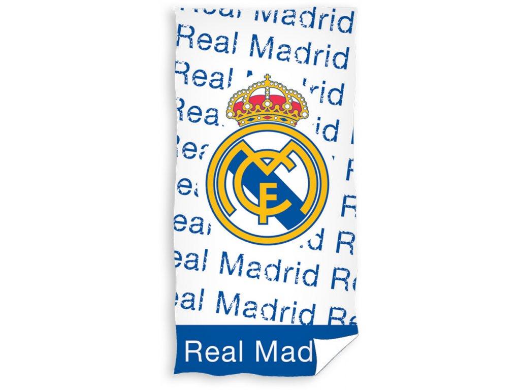 Fotbalová osuška Real Madrid Letras